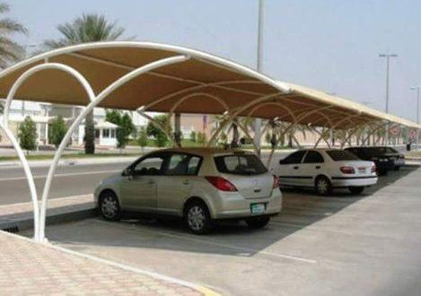 تركيب مظلات مواقف سيارات